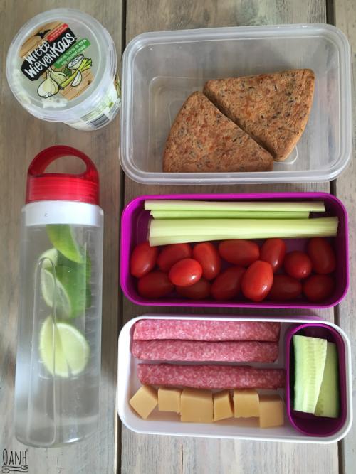 Lunchpakket voor een dagje uit