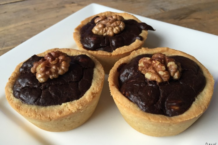 Wednesday Challenge: Chocolade noten taartjes
