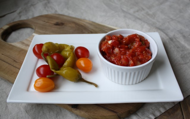 Wednesday Challenge: Mexicaanse salsa saus!