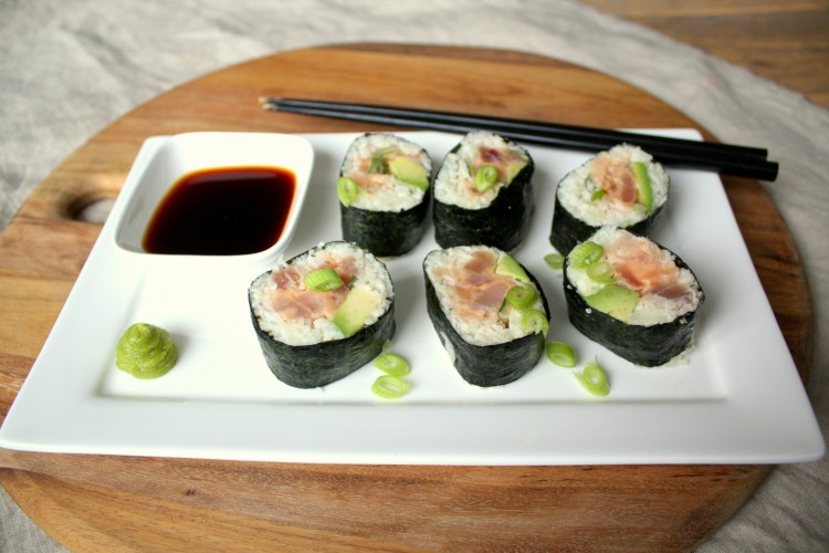 Wednesday Challenge: Spicey Tonijn Sushi!