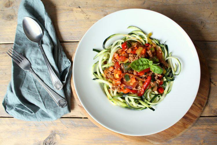 Spaghetti a la courgetti