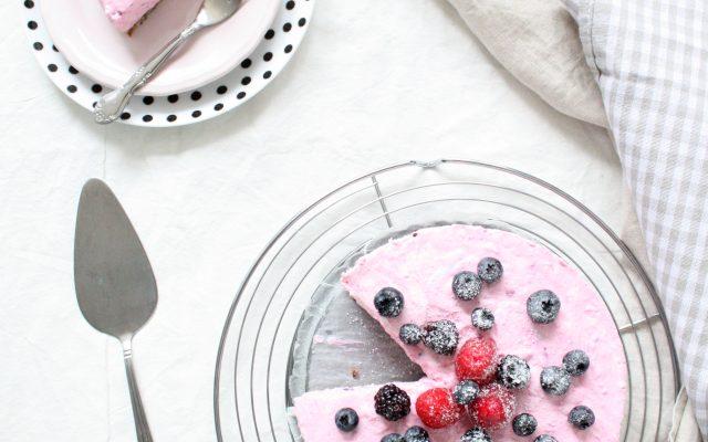 Frambozen bramen taart!