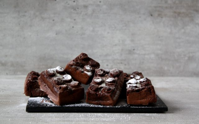 Lupinemeel brownies!