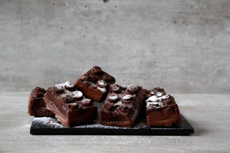 Lupinemeel brownies!