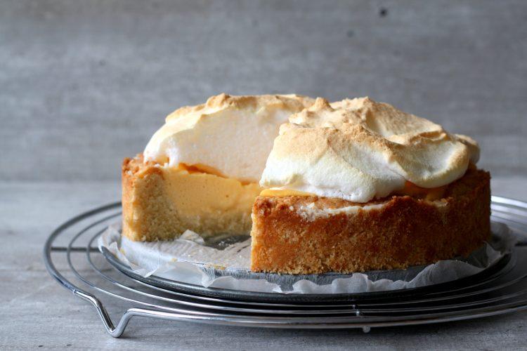 Limoen Meringue taart!