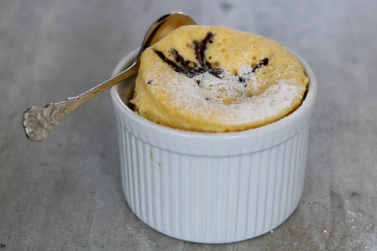Chocolade mugcake!