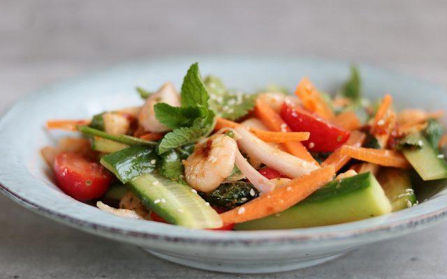 Thaise Garnalen Salade!