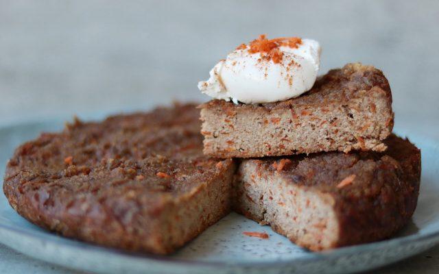 Carrot cake uit de slowcooker!