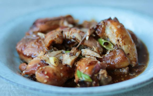 BBQ Chicken uit de Slowcooker
